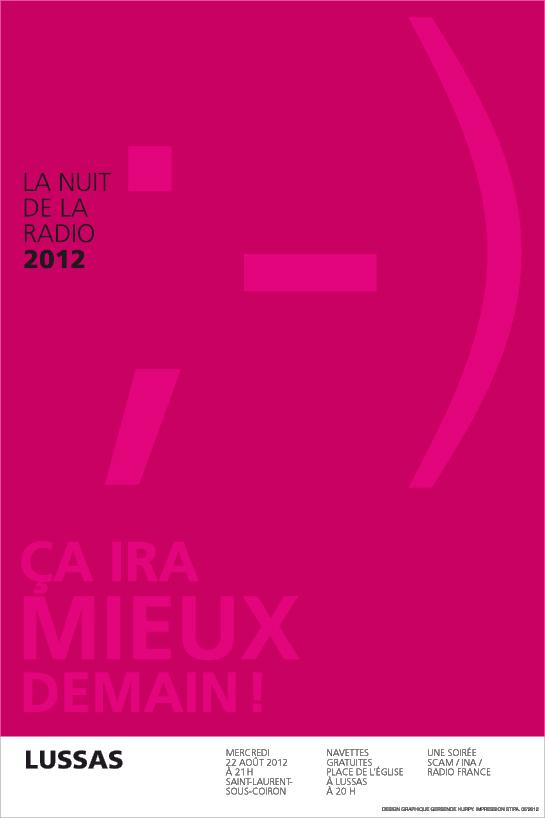 Nuit Radio 2012_Affiche Lussas