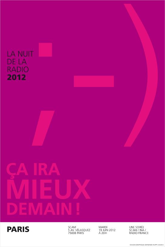 Nuit Radio 2012_Affiche Paris