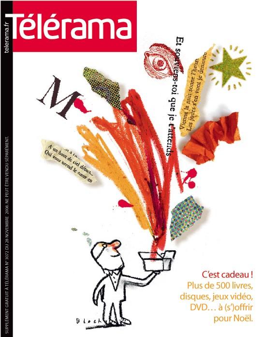 TELERAMA_MISE EN PAGE SPECIAL CADEAUX 2008